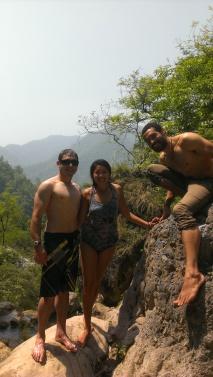 Jimmy, Zach, and I